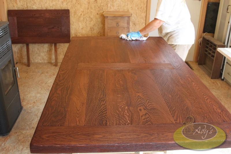 Beschadigd tafelblad